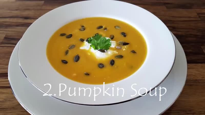 3 сливочных и вкусных способа приготовления супа. Суп из брокколи, суп из тыквы и суп из цветной капусты