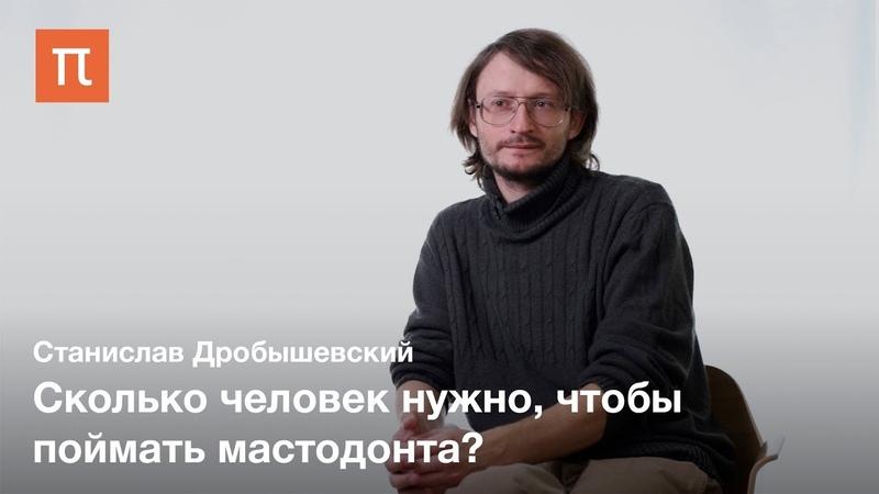 Охота на хоботных в верхнем палеолите Станислав Дробышевский