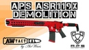Страйкбольный автомат APS ASR119X Demolition AEG (Red) APS-AEG-ASR119X