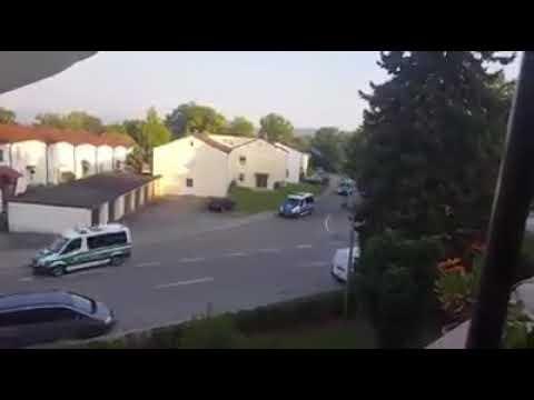 Großeinsatz in Donauwörth...Kaserne.