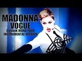 MADONNA - VOGUE (CoSmiK MDNA TOUR STUDIO MIX INSTRUMENTAL)