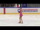 Весенняя капель 2018 Соревнования по фигурному катанию на коньках г Чехов