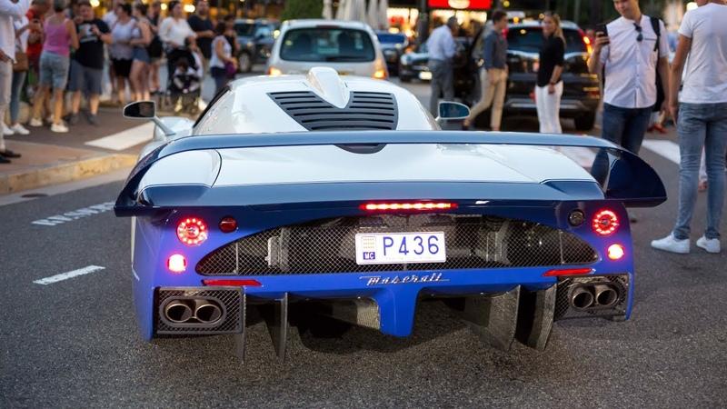 The EPIC Monaco Supercar Nightlife 2018 2 Chiron LaFerrari Carrera GT MC12 F12 TDF