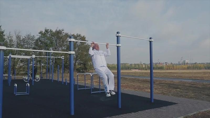 Арыстанбек Мухамедиулы дал старт проекту Challenge Street Workout