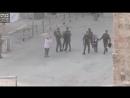 🇵🇸 Palestine Life under Occupation in Hebron Israeli Border Police detain two Palestinian children on their way to school