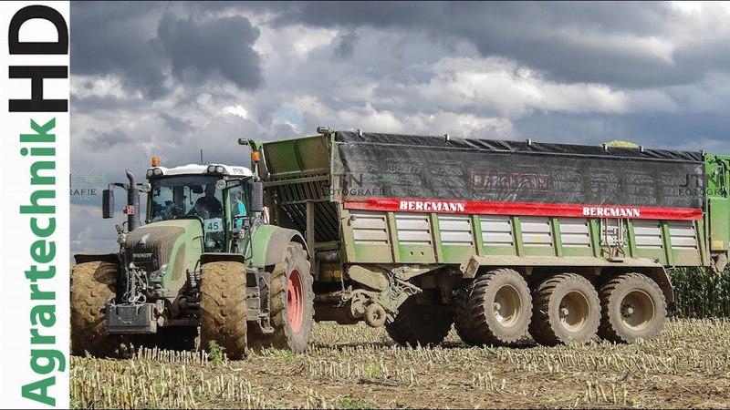 FENDT Traktoren CLAAS Jaguar 980 häckseln Mais für eine Biogasanlage | Lohnunternehmen Steyns