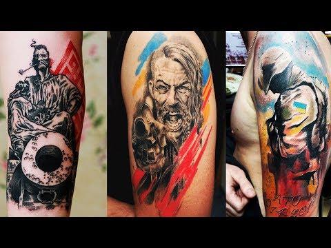 Добірка патріотичних татуювань українців!
