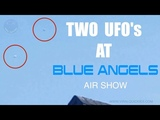 Two Ufo's at Blue Angels Air Show in Seattle