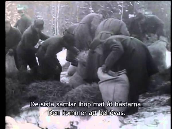 №21-1 28.11.1941 Зимняя война в Восточной Карелии. Дальний выход патруля для подрыва железной дороги