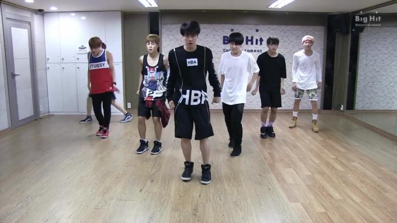 BTS (Danger) dance practice