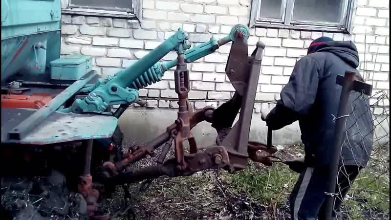 ДТ-75, Лопнул трос