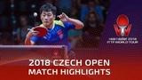 Zheng Peifeng vs Marcos Freitas | 2018 Czech Open Highlights (Final)