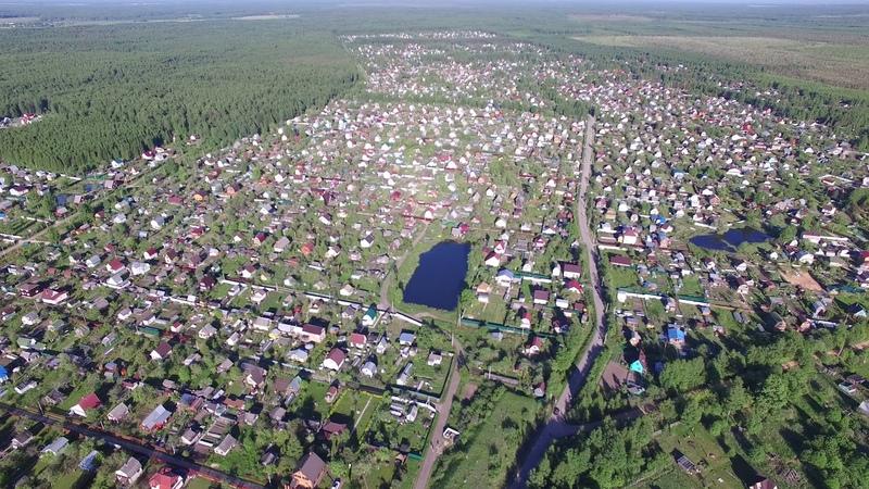 Полет от парковки нашествие до ст. Конаковский мох 2.5 км