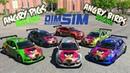 Презентация моих команд Angry Birds/Pigs Racing team Assetto Corsa