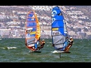 PWA - exciting Foil Windsurfing Final Elimination 4 – Day 2 PWA World Cup Costa Brava 2018