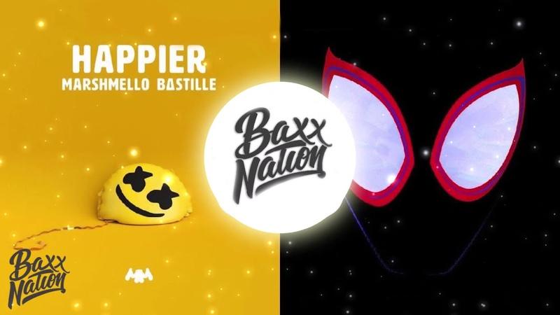 HAPPIER x SUNFLOWER [Mashup]   Marshmello, Post Malone, Swae Lee, Bastille