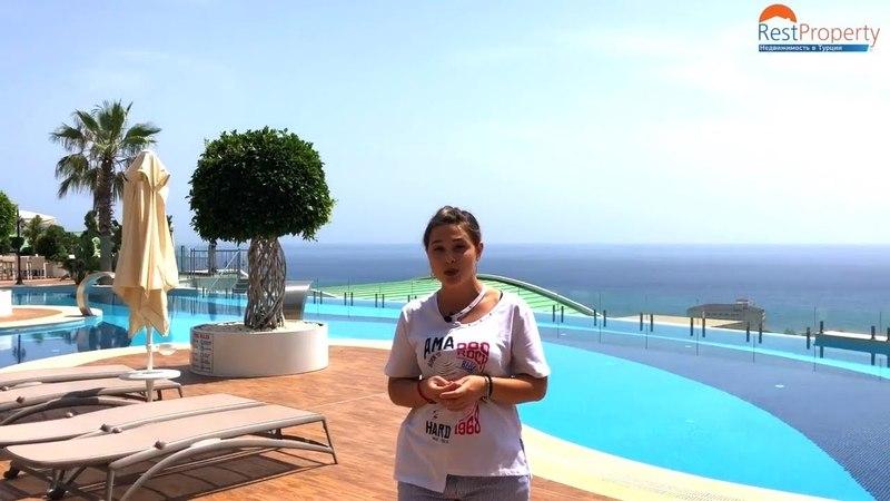 Недвижимость в Турции. Купить квартиру с видом на море в Аланье, Конаклы Турция 2018    RestProperty