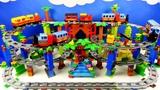 Строим из Lego Duplo, Lego Duplo Train, New Train, Train Railway, Train Bridge and Tracks #2