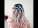 прическа для средних и длинных волос от @braids_for_my_hair