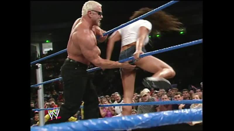 Jamie Noble and Nidia continued acquaintance with Scott on a ring 2002 11 28