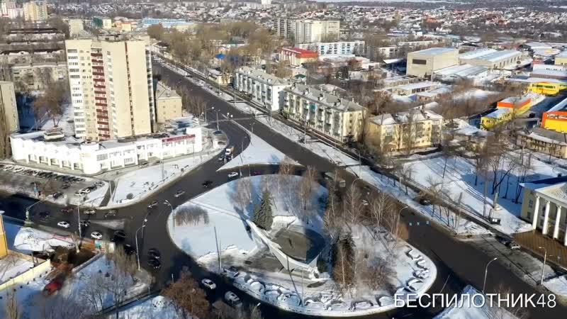 МИГ 19 Военный городок видеоткрытка Липецка
