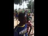 Brazil fans go crazy in Jamaica
