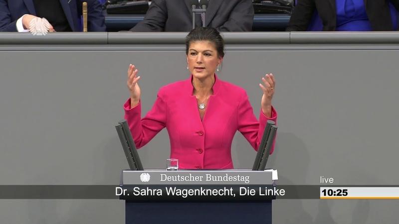 Sahra Wagenknecht, DIE LINKE Sind für Sie Lobbyisten wirklich wichtiger als zufriedene Wähler