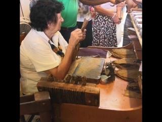 Как на Кубе делают сигары