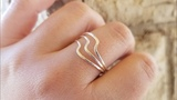 Wire Wave Ring