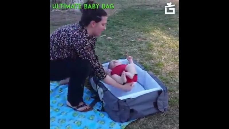 💥The All In One Baby Bag! All The Space You Could Ever Need 😱😱