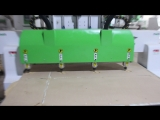 New 4 Axis 3D and 4D Multi-heads Wood Engraving CNC Router Machine for making furniture with 4 heads