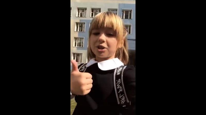 Ярослава Дегтярёва поёт Не молчи 5 Московский слет вожатых
