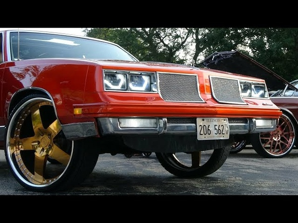 Veltboy314 Candy Orange Cutass Gold 24 Billet Specialties Specialties Custom Headlights 📽🎞🔥