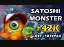 Вывел 42 425 satoshi с BTC крана Satoshi Monster и Satoshi Hero