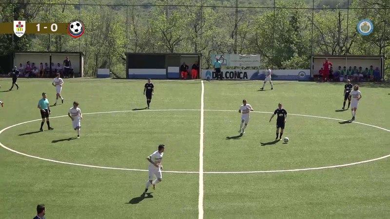 Коппа Титано 2017-18. Полуфинал. Ла Фьорита - Ювенес-Догана (2:0)