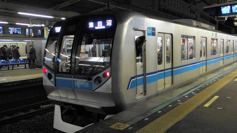 [60p]内房線特別快速・地下鉄東西線直通 帰宅ラッシュのJR総武線船橋駅 JR Sobu