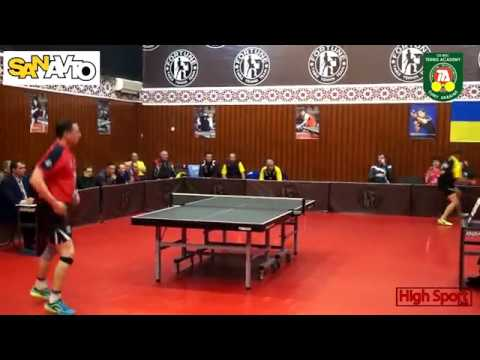 Table tennis Highlights   Fortune Kyiv 4-1 Tennis Academy Sumy  HighSportLive   21/04/2018