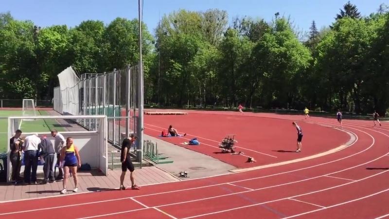 Эстафета 4х400 - II этап (г. Винница 06.05.2017 )
