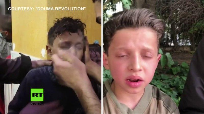 Giftgas in Duma: Aussagen eines Jungen aus Beweisvideo sprechen für Fälschung