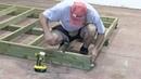 Как построить каркасный дом, инструкция - Часть 1 Пол