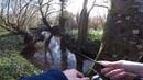 Small secret creek fishing for wild trout in France Рыбалка на форель в секретном ручье во Фрации