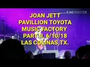 Joan Jett Toyota Music Factory Part II You Drive Me Wild Las Colinas Texas 6 10 18