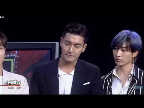 [180622] Super Junior Leslie Grace on Good Day New York_(Siwon's English)_ Interview Cut Part 2