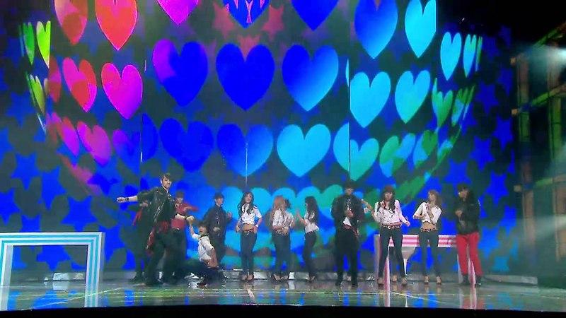 TVPP 2PM Love Song Medley with SNSD 3 3 투피엠 러브 송 메들리 with 소녀시대 3 3 @ 2009 KMF