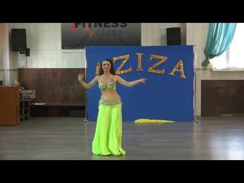 Aziza_Rostov Танец живота-Solo Tabla-Bellydance