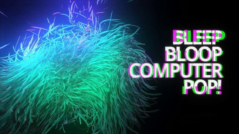 Bleep, Bloop, Computer - The Solskogen 2018 Invitation