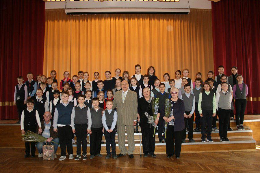 Школьники Ховрина встретились с ветеранами