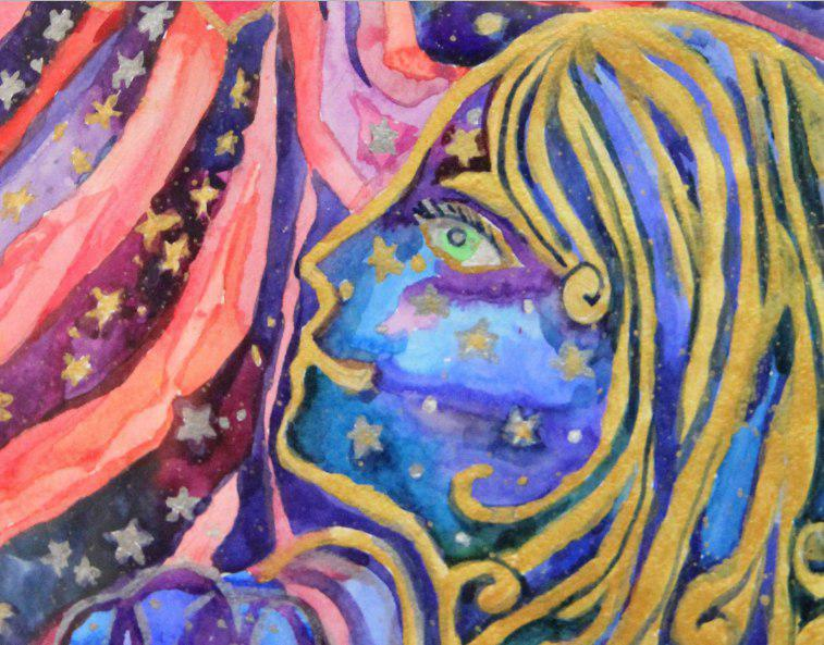 Выставка «Что я вижу в космосе» открылась в «Огоньке» на Зеленоградской