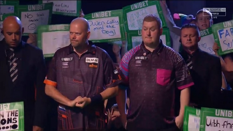 2018 World Grand Prix Round 1 Evans vs van Barneveld