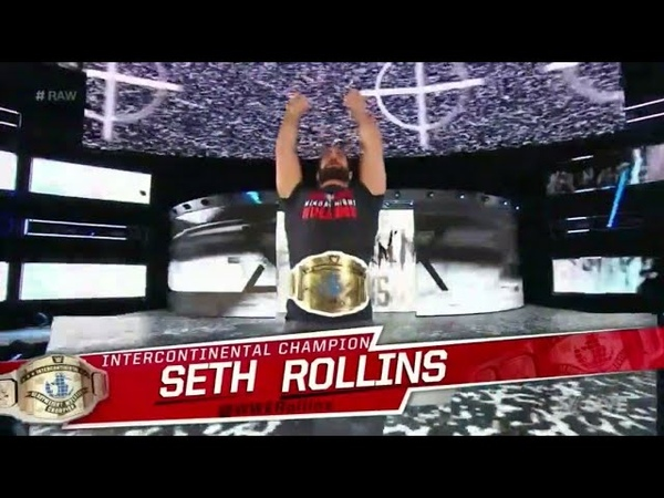 Seth Rollins Entrance W/ Loudest BURN IT DOWN EVER - RAW After Mania: April 9. 2018 (HD)